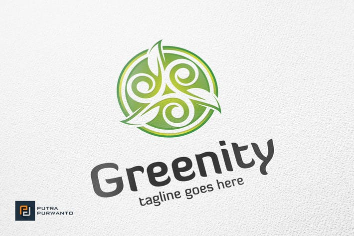 Thumbnail for Greenity / Leaf - Logo Template