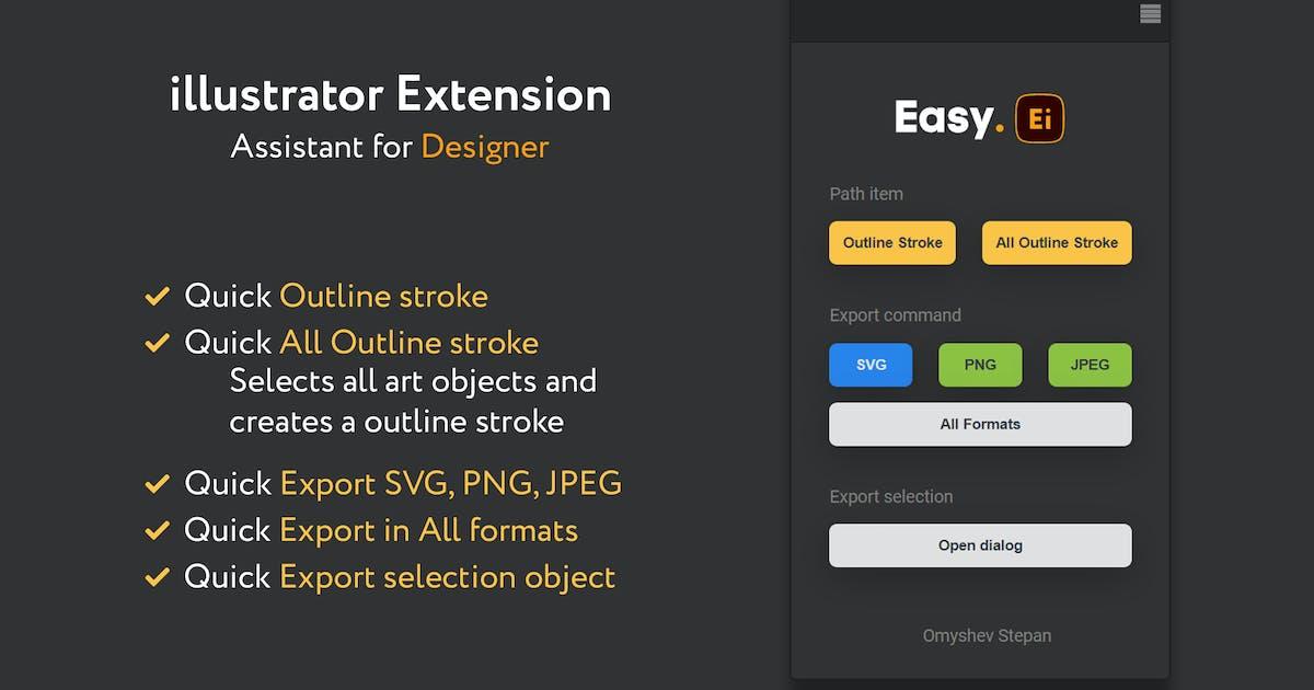 Download Easy illustrator tools by OmyshevStepan