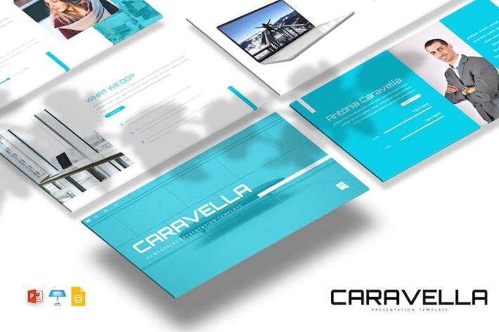 Thumbnail for Caravella - Powerpoint / Google Slides / Keynote