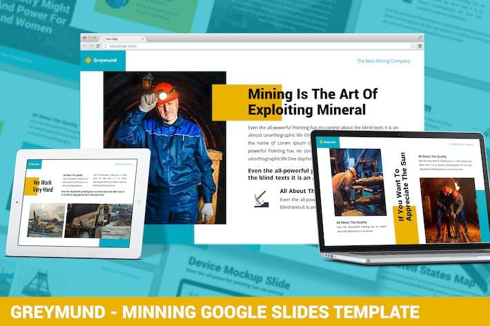 Thumbnail for Greymund - Mining Google Slides Template