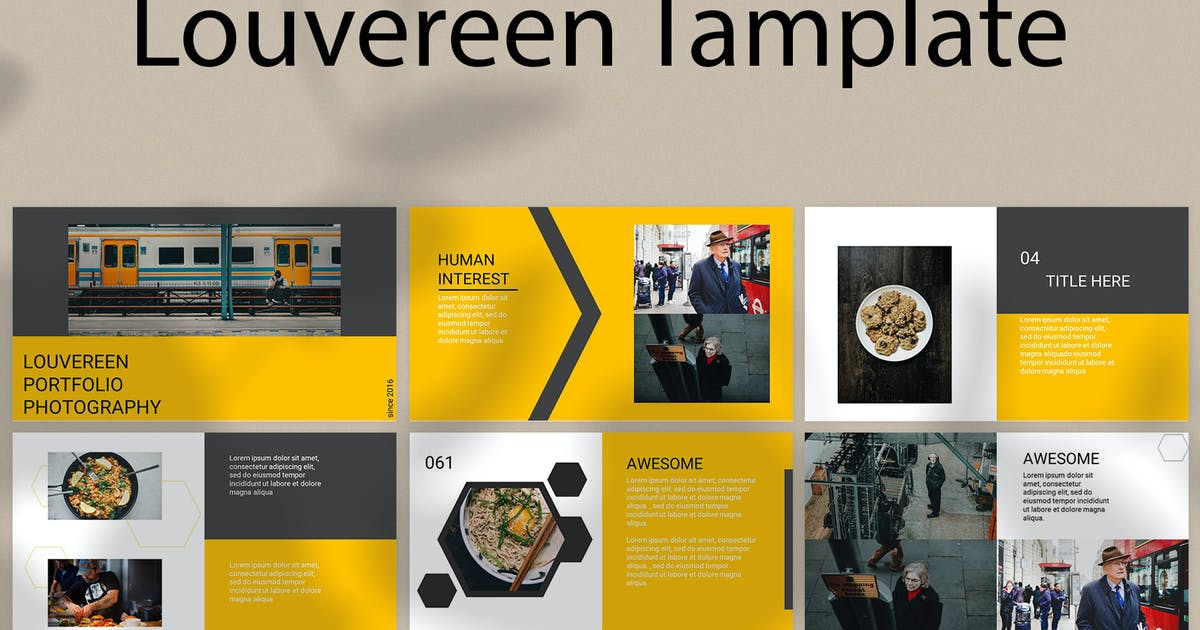 Download Louvereen - Keynote by graptailtype