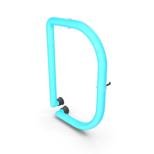 Neon-Buchstabe D