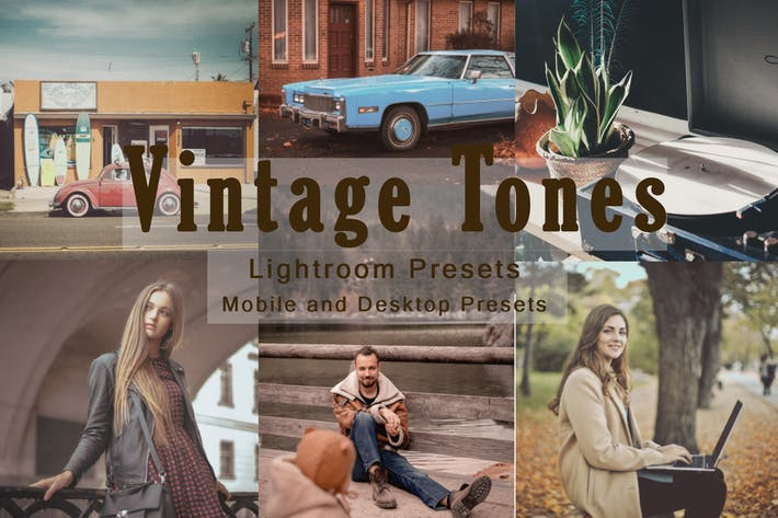 Thumbnail for Vintage Tones -  Lightroom Presets