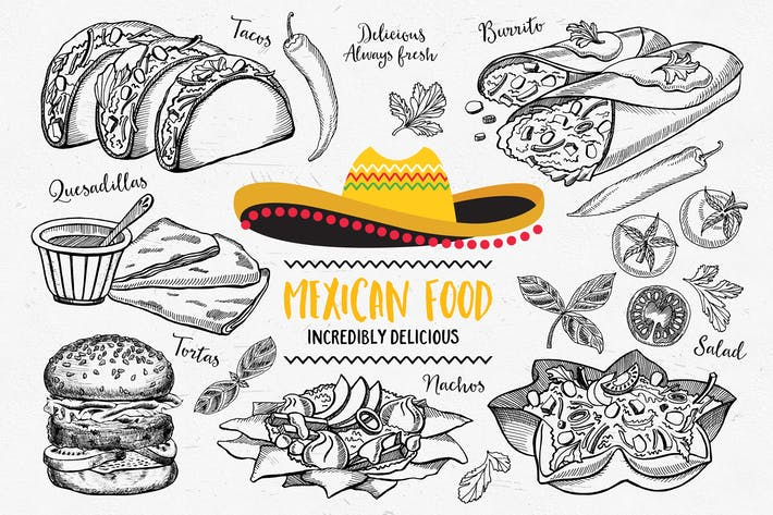 Thumbnail for Éléments alimentaires mexicains