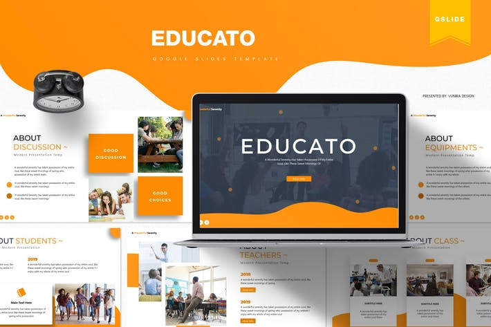 Thumbnail for Educato | Google Slides Template
