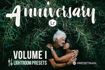 Anniversary Lightroom Presets - Volume I