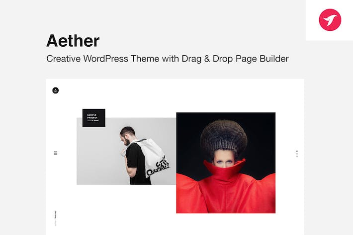 Thumbnail for AETHER - Enjoyable Muliti-Concept WordPress Theme