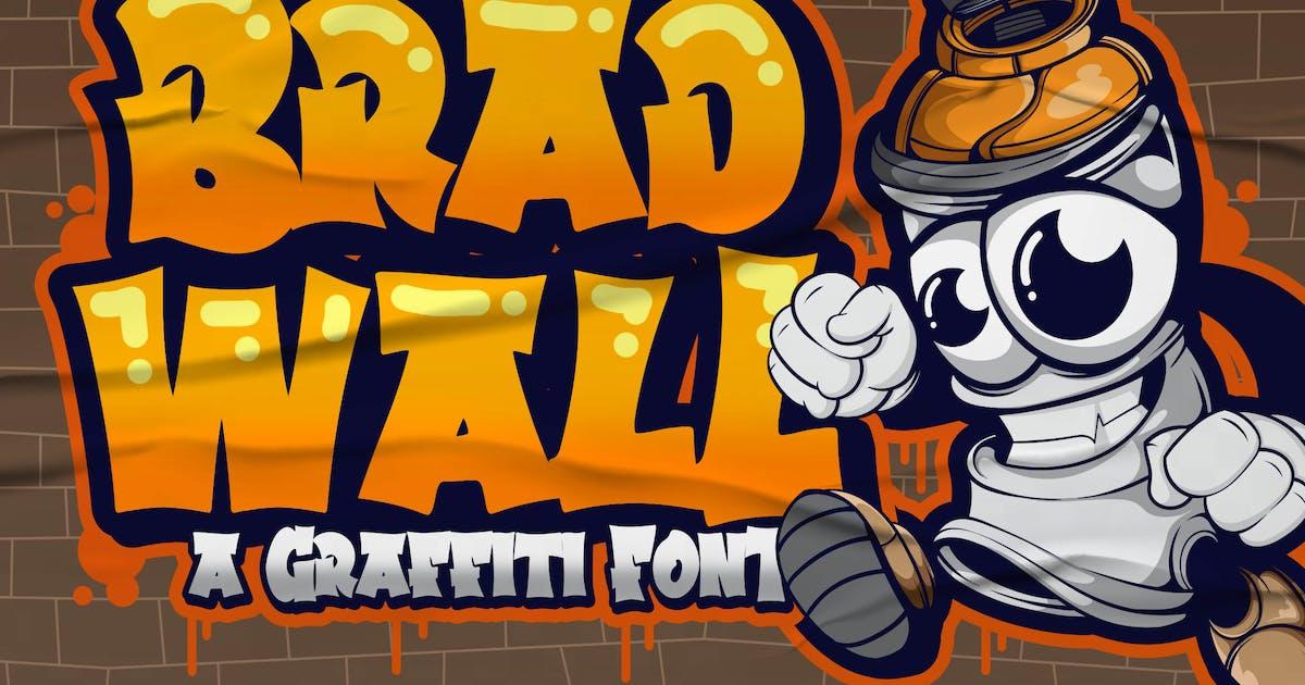 Download Bradwall Graffiti Font by Blankids