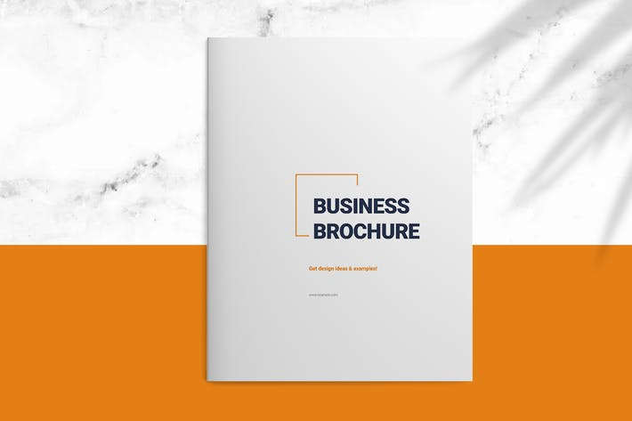 Cover Image For Business Brochure Layout