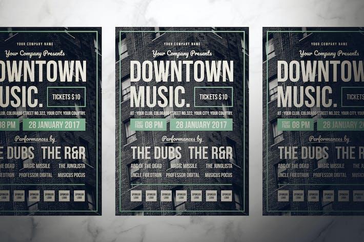 Thumbnail for Retro Music Flyer