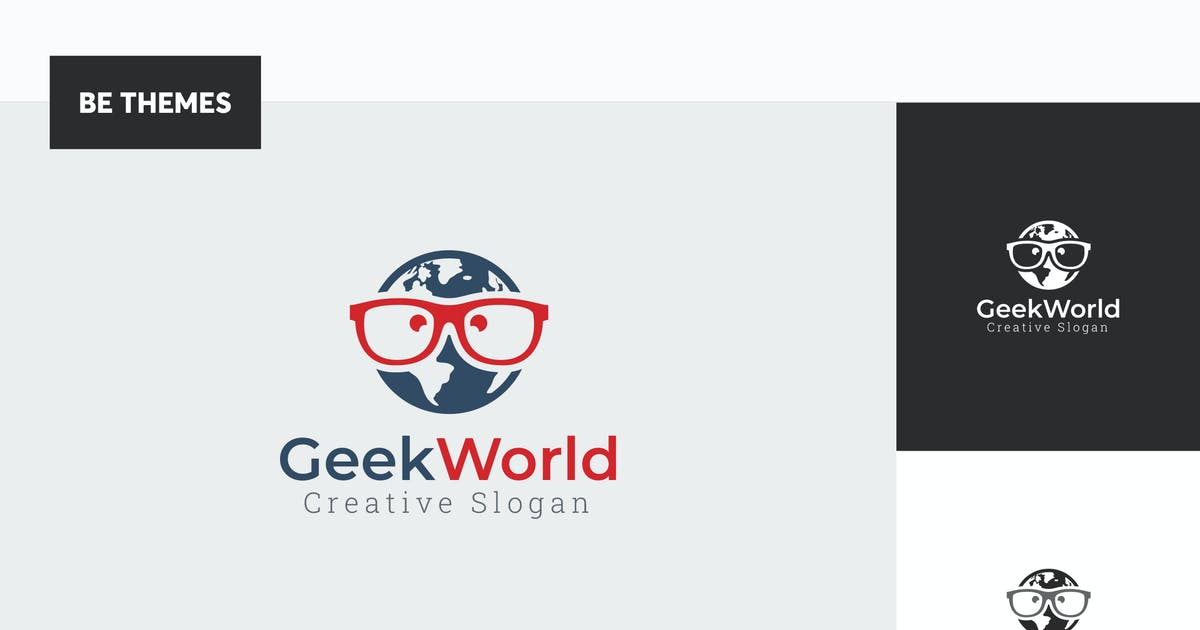 Download Geek World Logo Template by Be_Themes