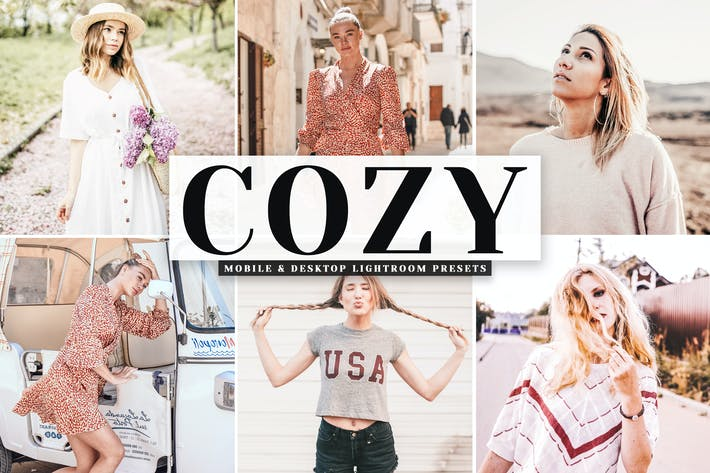 Thumbnail for Cozy Mobile & Desktop Lightroom Presets