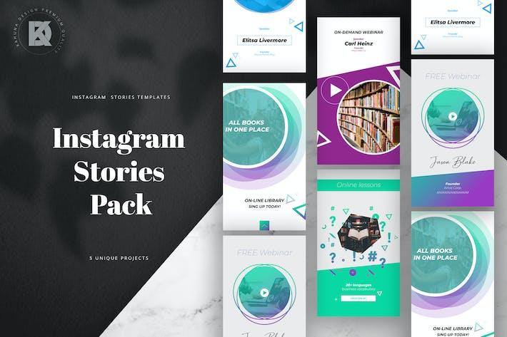 Thumbnail for Online Live Stream Instagram Stories