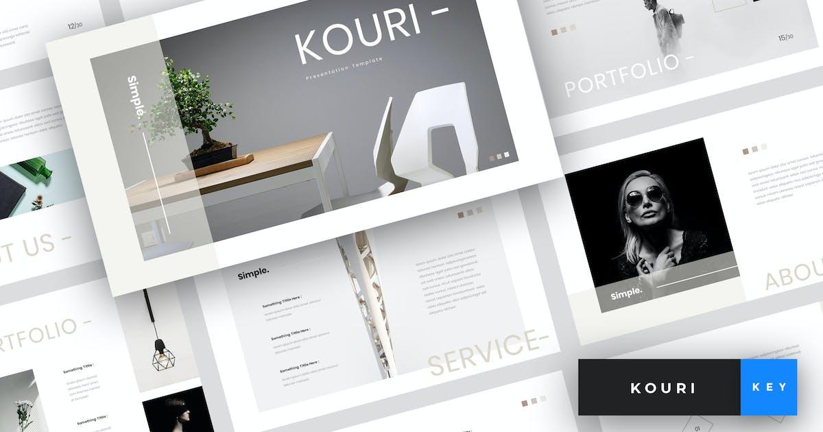 Download Kouri - Minimal Keynote Template by StringLabs