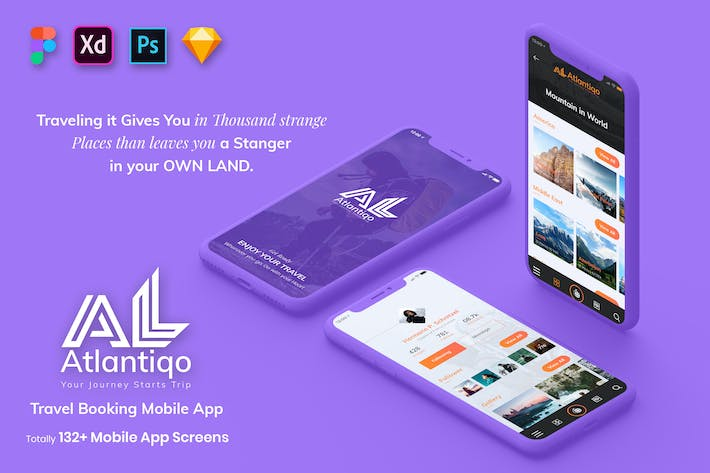 Thumbnail for Atlantigo-Travel & Flight Booking MobileApp