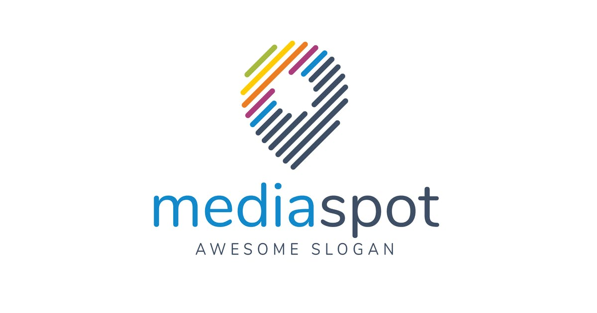 Download Media Spot Logo Template by hoanglam1607