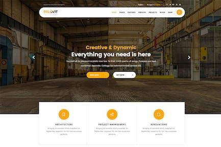 Construction Unternehmens- Mehrzweck-Vorlage