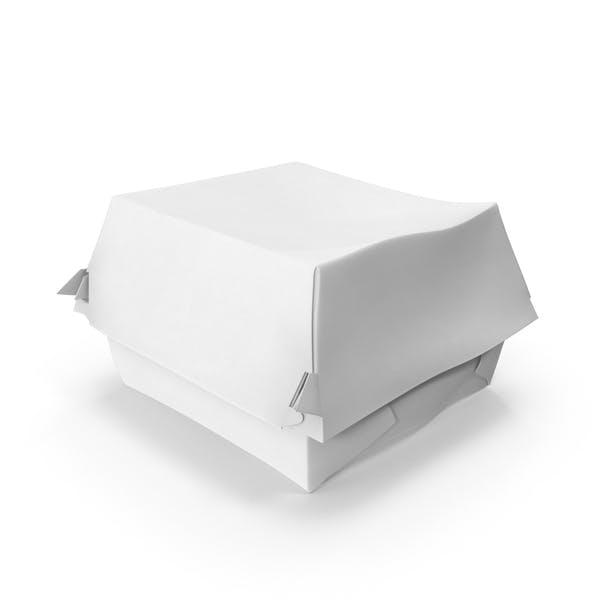 Caja de hamburguesas