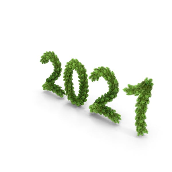 Christmas Tree Garland 2021