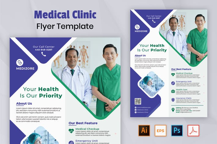 Thumbnail for Nuzie - Medical Flyer Templte