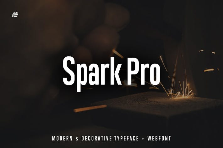 Thumbnail for Spark Pro - Decorative Typeface + WebFont