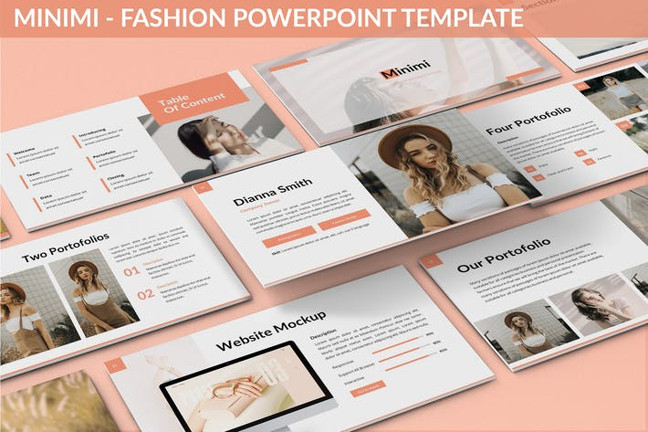 Thumbnail for Minimi - Fashion Powerpoint Template