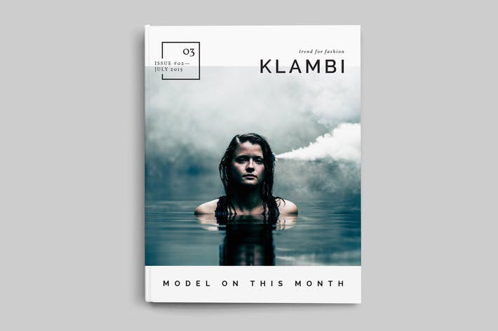 Thumbnail for Fashion Magazine Template