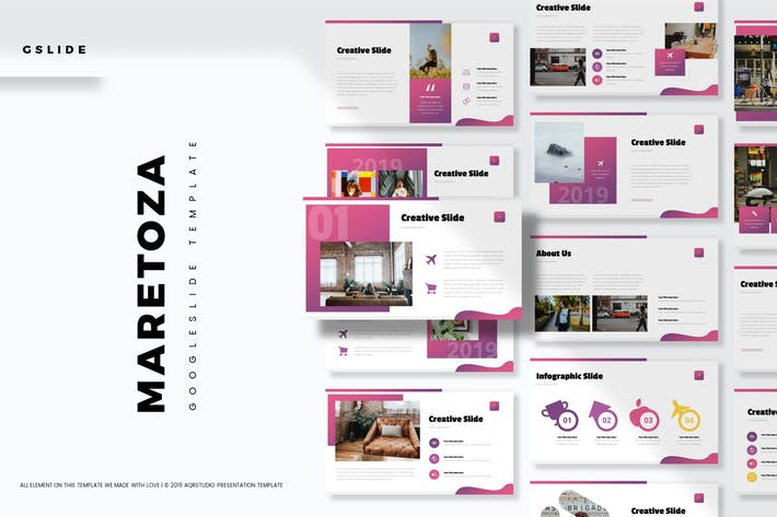 Thumbnail for Maretoza - Google Slide Template
