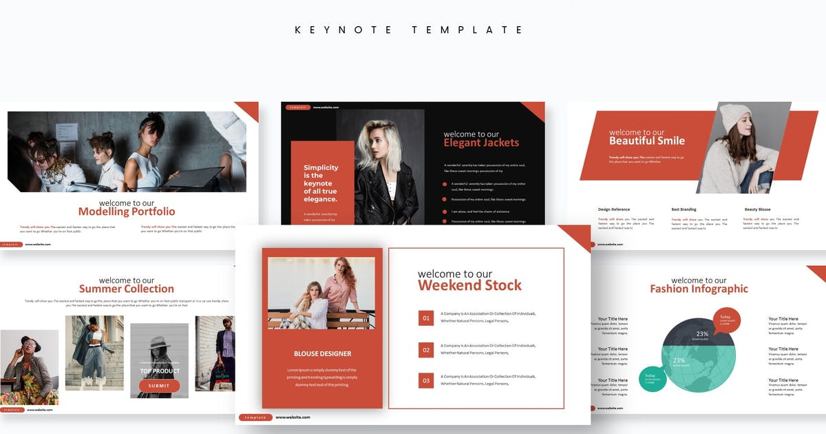 Download Collection - Keynote Template by aqrstudio