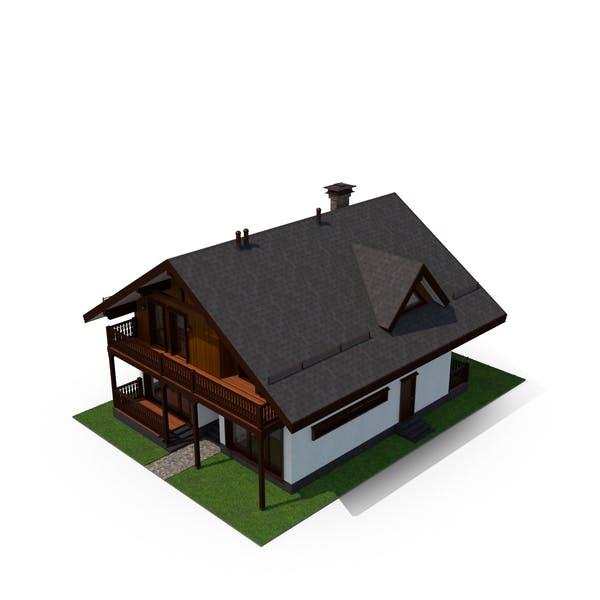 Сланцевый дом