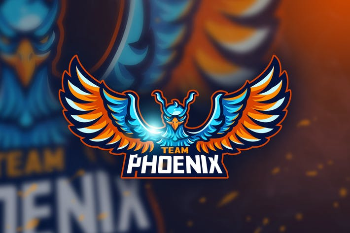 Thumbnail for Team Phoenix - Mascot & Esport Logo