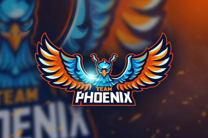 Thumbnail for Team Phoenix - Mascot & Esport Logo