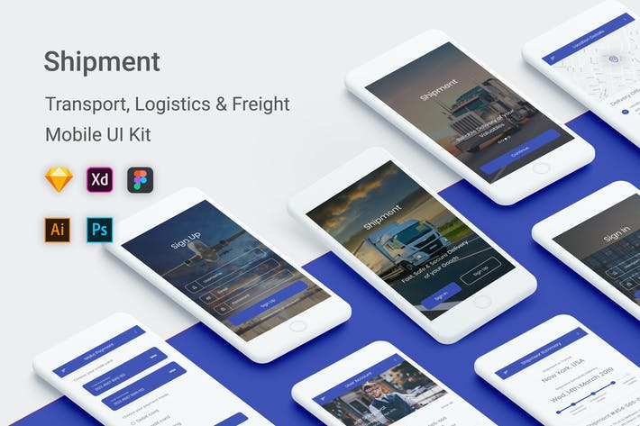 Thumbnail for Shipment -Transport, Logistic & Freight App