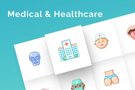 Medical & Healthcare Icons Set