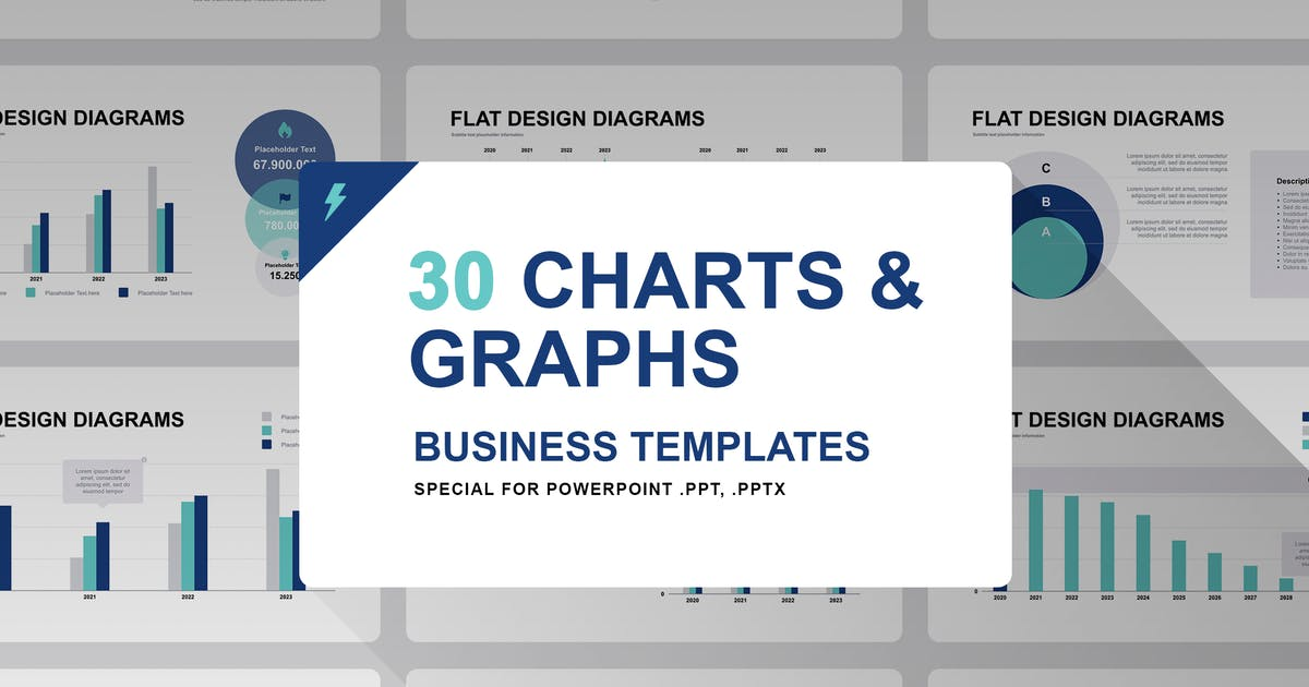 Download Graphs and Charts for PowerPoint by Site2max
