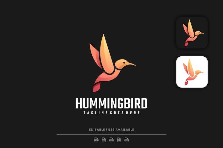 Humming Bird Gradient Logo