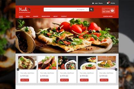 Food Order Website Design Exploration