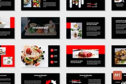Ресторан - Продовольственный бизнес (Powerpoint)