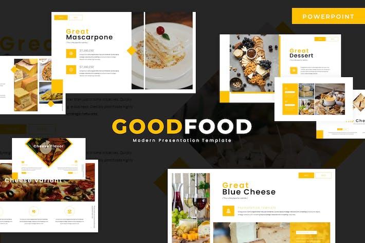 Thumbnail for Goodfood - Google Slide Template