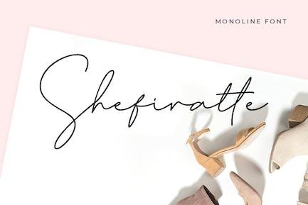 Shefiratte - Modern Signature Font