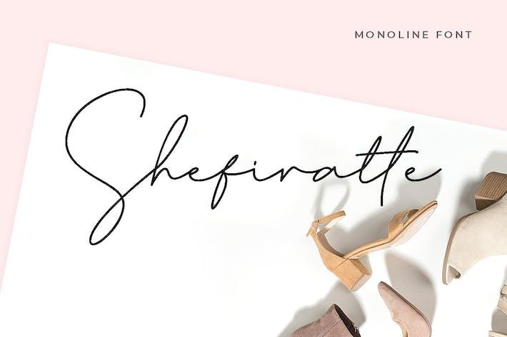 Thumbnail for Shefiratte - Modern Signature Font