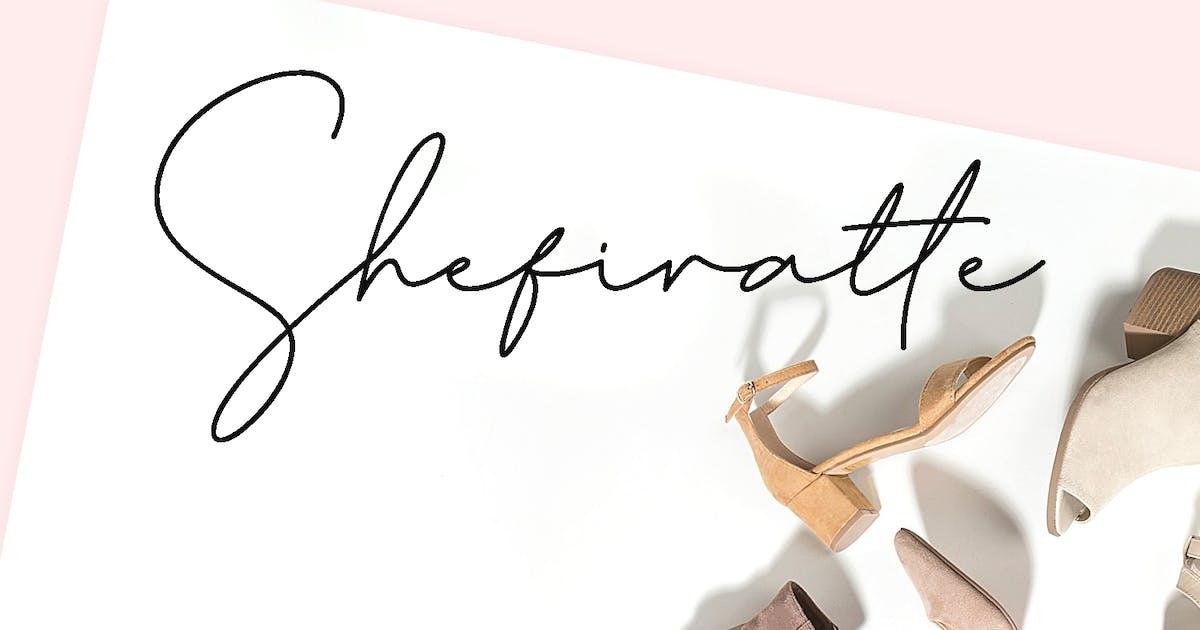 Download Shefiratte - Modern Signature Font by YumnaStudio