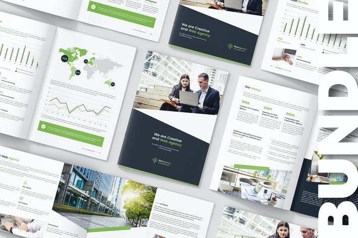 Thumbnail for Web Agency – Company Profile Bundle 3 in 1