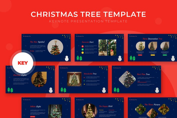 Christmas Tree - Keynote Template