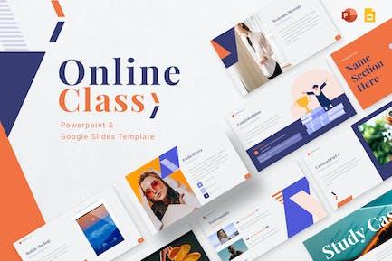 Online Class Presentation Template