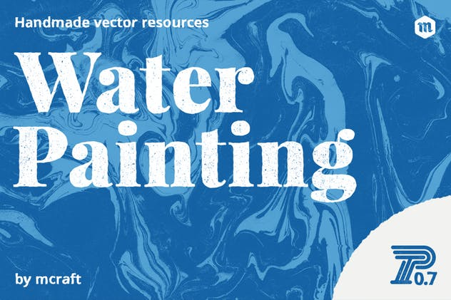 Water Painting Texture Pack Background