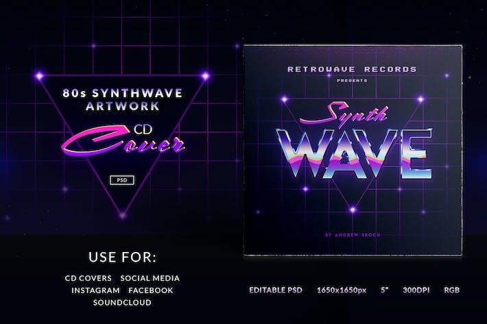 Thumbnail for 80er Synthwave Cover Artwork