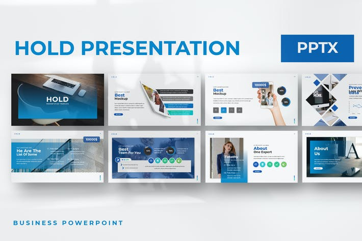 Thumbnail for Hold Powerpoint Template