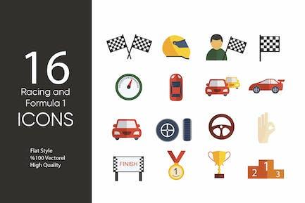 Racing and Formula 1 Icons