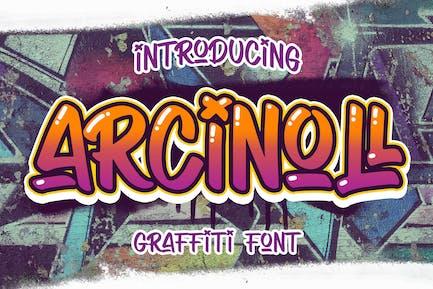 Arcinoll - Graffiti Font